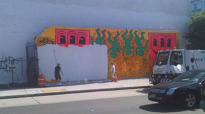 Lower East Side Bids Goodbye Haring