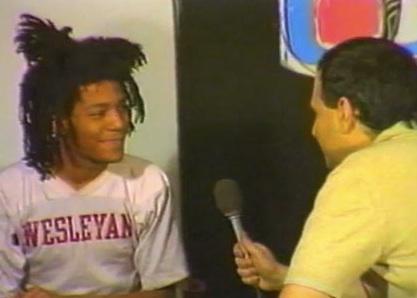 Basquiat Behind the Interview
