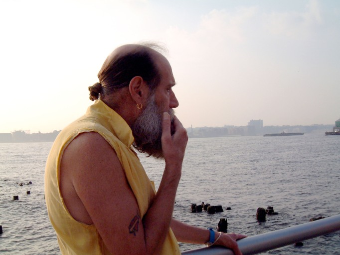 Lawrence Weiner Is Looking Up