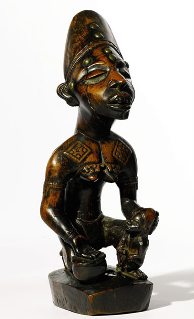 Robert Rubins African Carvings Hit the