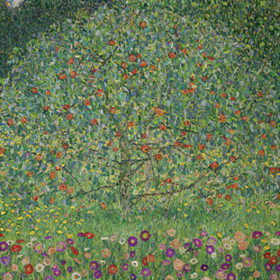 Klimt's Apple Tree I, ca. 1912, sold for $33 million, breaking the artist's previous auction record of $29.1 million.