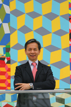 Samuel Kung, founder and director of the Museum of Contemporary Art Shanghai.