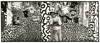Keith Haring branded himself and his work when he opened Pop Shop in New York in 1986.