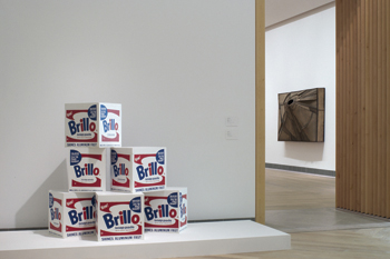 "Six of the boxes made in 1990 were on view at the Moderna Museet. The museum said they would be ""struck from the collection."""