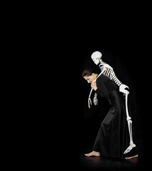 Carrying the Skeleton, 2008, limited-edition framed C-print.