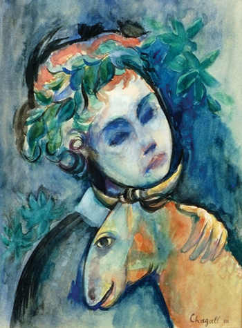 The Chagall Committee says that Girl with Goat is not a genuine work by Chagall.