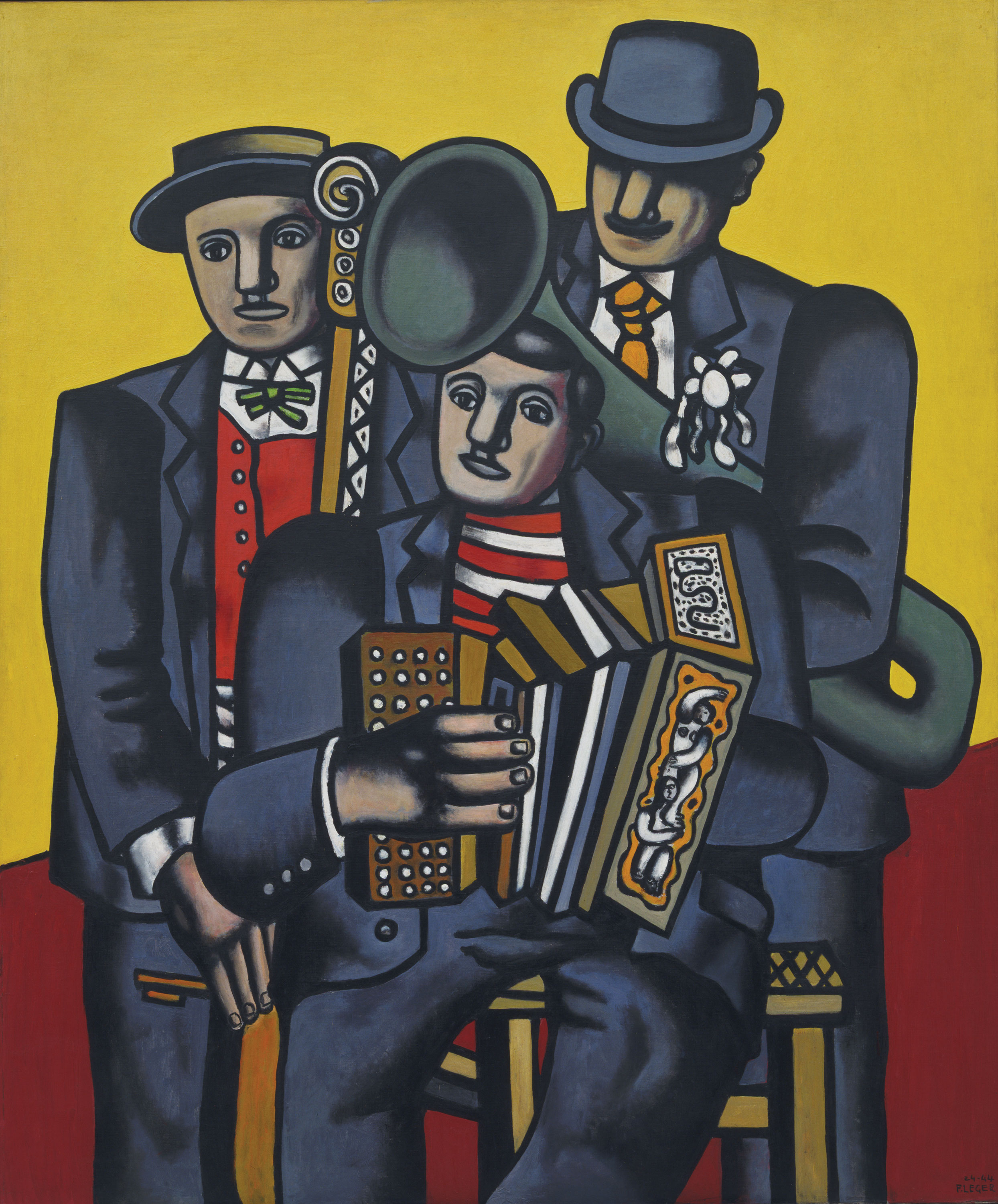 The cubists the tubist artnews for Telephone leger
