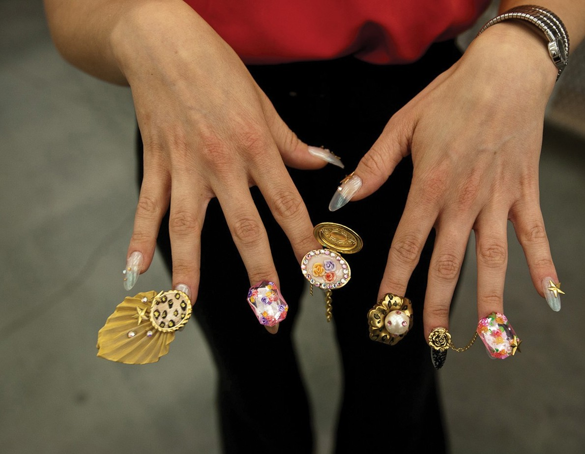 Salon Culture Dzine Brings Nail Art To A New Level Artnews