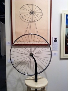 Top: Man Ray, Untitled (Bicycle wheel), n.d.