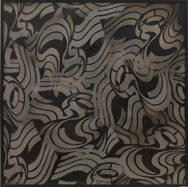 Faramarz Pilaram, Untitled, 1982, oil on canvas.