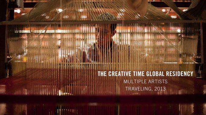Creative Time Global Residency Program Winners