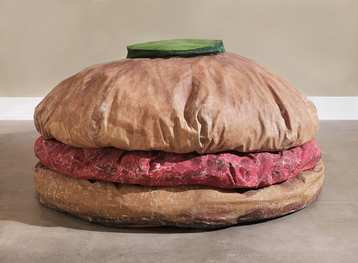 Amazing Claes Oldenburg Hold The Pickle Artnews Com Caraccident5 Cool Chair Designs And Ideas Caraccident5Info