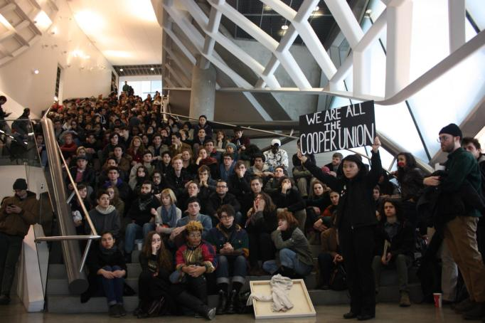 Cooper Art Faculty Endorses Proposal of