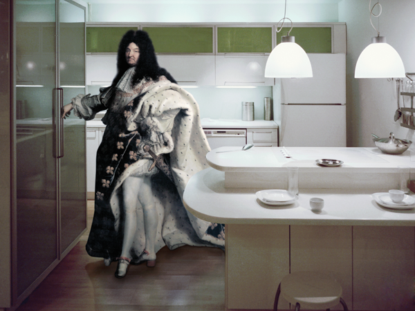 Koya Abe, After Louis XIV, 2005