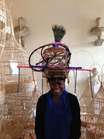 Maria Magdalena Campos, artist of the Pavilion of Cuba at the 2013 Venice Biennale. ©ROBIN CEMBALEST 2013.