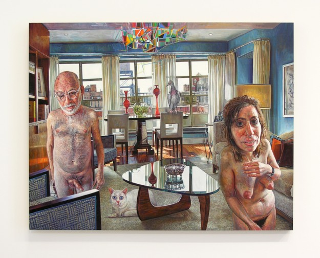 Mark Greenwold: Murdering the World, Paintings