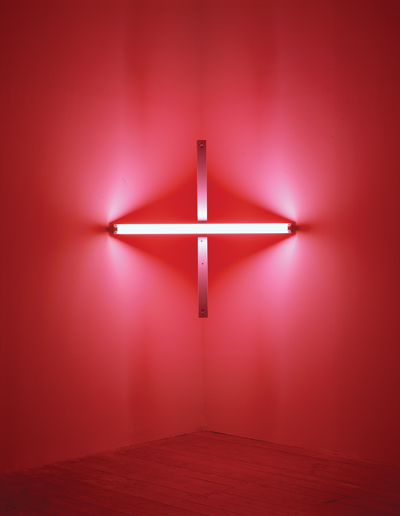 Dan Flavin's untitled [to Barbara Wool], 1970