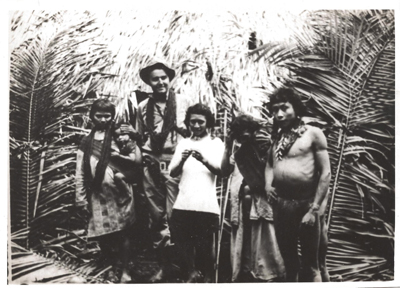 Benatov with friends in Brazil. At 16, he set off to make his fortune in the Brazilian jungle. COURTESY LEONARDO BENATOV