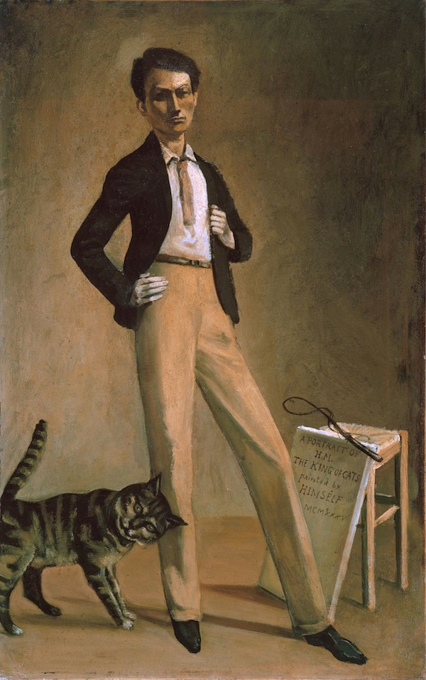 Balthus, The King of Cats, 1935. oil on canvas. COURTESY FONDATION BALTHUS. ©BALTHUS.