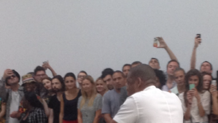 Jay-Z Serenades the Art World