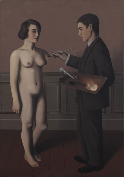 Magritte's La Tentative de l'Impossible (Attempting the Impossible), 1928, oil on canvas. ©CHARLY HERSCOVICI-adagp-ars, 2013/TOYOTA MUNICIPAL MUSEUM OF ART, JAPAN