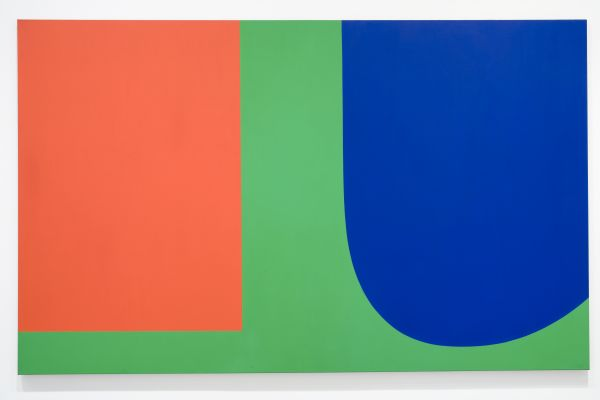 Ellsworth Kelly, Red Blue Green, 1963, oil on canvas.  COURTESY THE MUSEUM OF CONTEMPORARY ART SAN DIEGO.