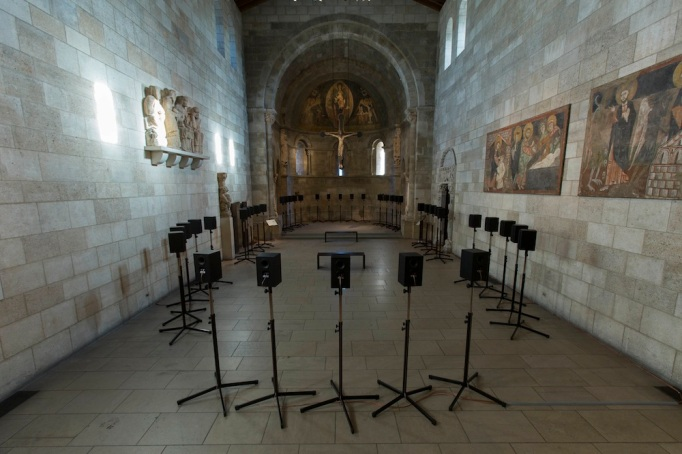 Janet Cardiff Gets Medieval the Cloisters