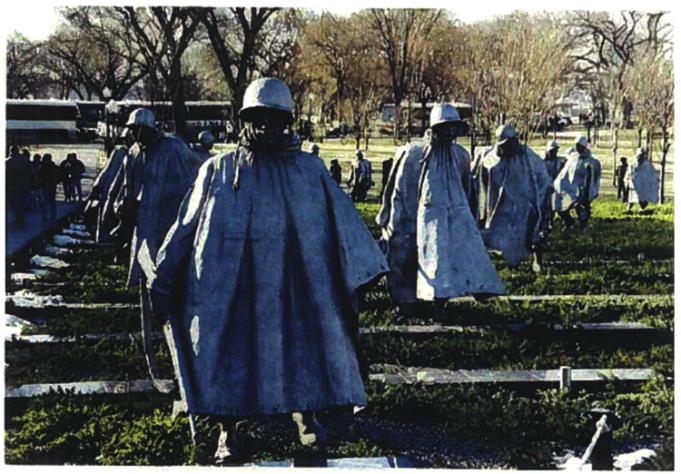 USPS Pay Korean War Memorial Sculptor