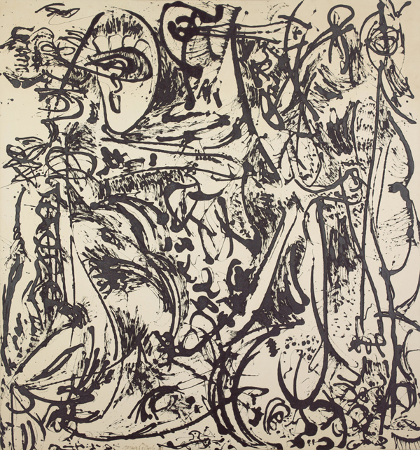 Jackson Pollock, Echo: Number 25, 1951, 1951, enamel paint on canvas. © 2013 Pollock-Krasner Foundation/Artists Rights Society (ARS), New York. Image courtesy MoMA.