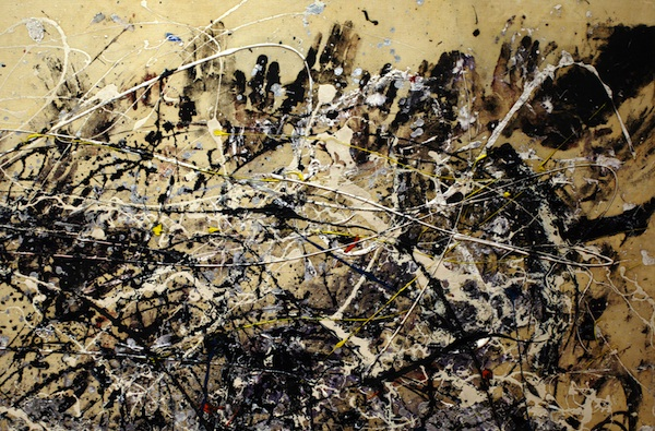 Jackson Pollock,  Number 1A, 1948, 1948, oil and enamel paint on canvas.  © 2013 Pollock-Krasner Foundation / Artists Rights Society (ARS), New York. Image courtesy MoMA.