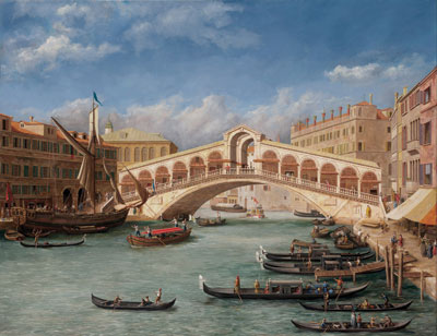 "Quite a technical show-piece,"" Stevenson boasts of his fake Canaletto. ©LEOSTEVENSON.COM"