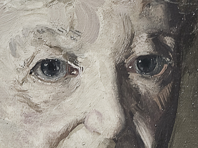 Mrs. T. in Cream Silk, No.2 (detail), 
