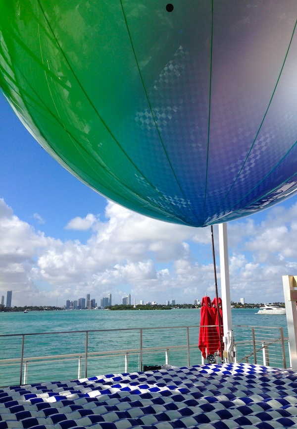 FriendsWithYou, 'Somewhere Over the Rainbow,' 2013. Installation at the Mondrian South Beach Hotel.