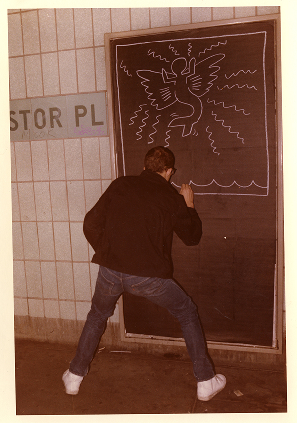 ©Keith Haring Foundation. Photo: Elinor Vernes.