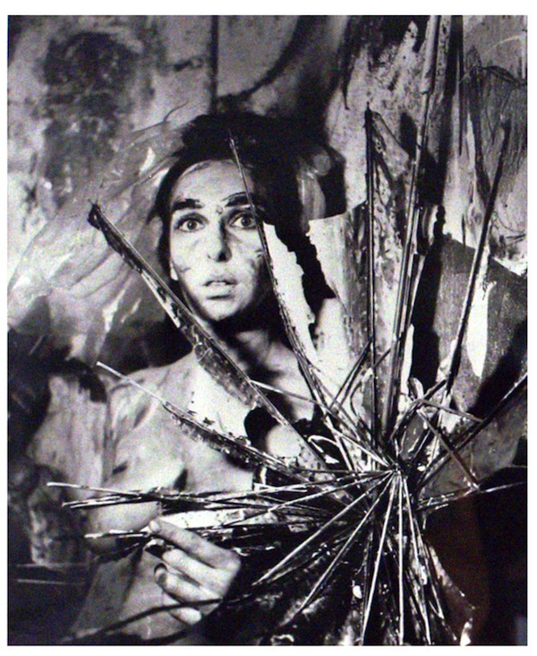 Carolee Schneeman,  Eye Body #24, 1963, photograph. COLLECTION PÉREZ ART MUSEUM MIAMI; GIFT OF DENNIS AND DEBRA SCHOLL.