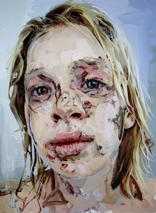 Jenny Saville, Bleach, 2008, oil on canvas. COLLECTION OF LISA AND STEVEN TANANBAUM.