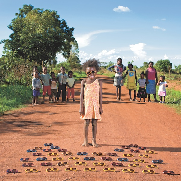 Gabriele Galimberti, Maudy, 3 Kalulushi, Zambia from Toy Stories: Photos of Children from Around the World and Their Favorite Things, published by Abrams. COURTESY GABRIELE GALIMBERTI/INSTITUTE.