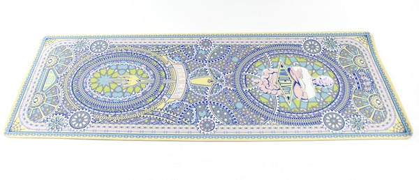 Grey Area Yoga, Wim Delvoye Yoga Mat, Eco-Friendly PVC, limited edition, $90. COURTESY THE ARTIST AND GREY AREA, NEW YORK.