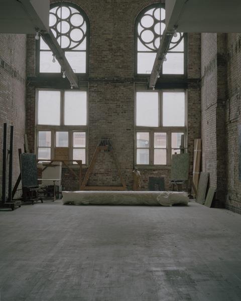 Milton Resnick's Studio Extend AbEx Legacy