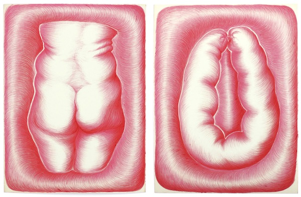Kinke Kooi, Fat Butt, Greasy Sausage, 2013, Piezographic print, edition of 20, $500. COURTESY FEATURE INC.