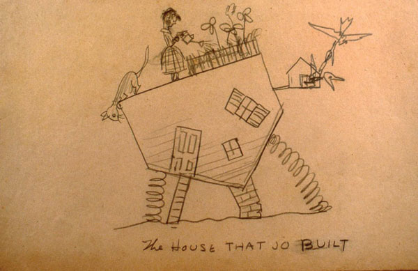 The House that Jo Built. COURTESY ARTHAYER R. SANBORN HOPPER COLLECTION TRUST