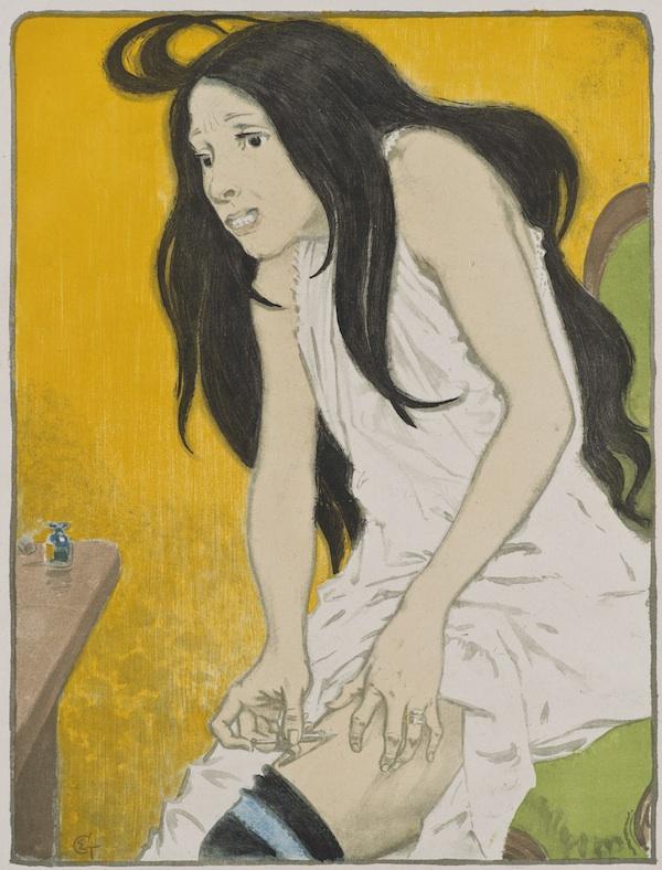 1. Eugene Grasset_La Morphinomane_The Morphine Addict_600