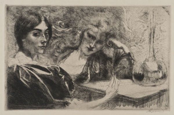 9. Paul Albert Besnard_Morphinomanes ou Le Plumet_Morphine Addicts or The Plume_600