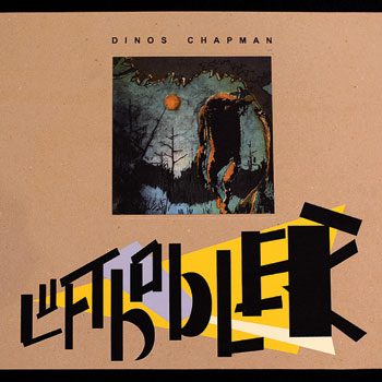 The cover of Dinos Chapman's album Luftbobler. COURTESY THE VINYL FACTORY, LONDON