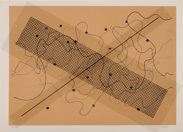 John Cage, Fontana Mix, 1958. COURTESY THE JOHN CAGE TRUST