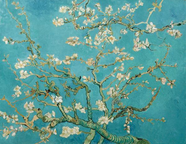 Van Gogh's Almond Blossom, 1890.VAN GOGH MUSEUM, AMSTERDAM, VINCENT VAN GOGH FOUNDATION