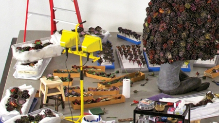 Artists' Studios: The Dollhouse Version