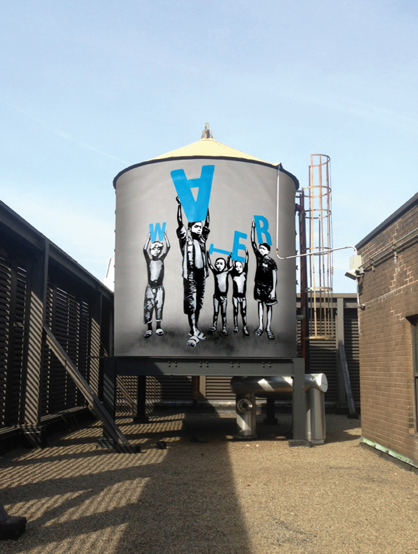 Renderings of contributions to the Water Tank Project by ICY and SOT. ©2014 ICY and SOT
