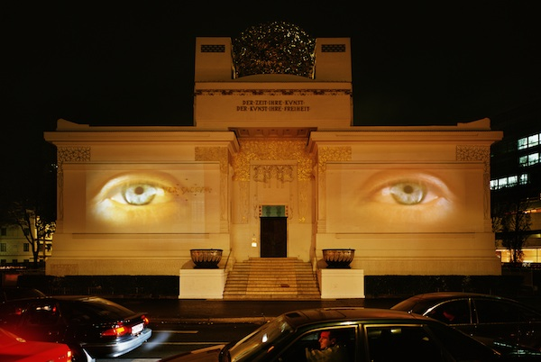 Doug Aitken, untitled (secession eyes), 2002. Courtesy...