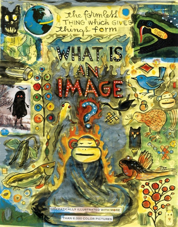 Lynda Barry, What Is An Image?, ca. 2008, drawing, collage and mixed media on paper. COURTESY ADAM BAUMGOLD GALLERY.
